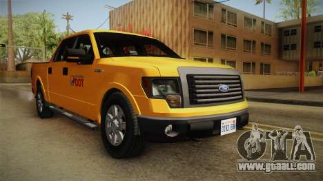 Ford F150 2010 for GTA San Andreas right view