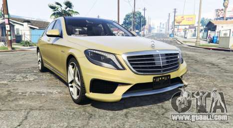 Mercedes-Benz S63 yellow brake caliper [replace] for GTA 5