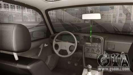 Volkswagen Passat Stanceworks for GTA San Andreas back left view