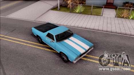 Sabre La Destino Turbo for GTA San Andreas right view
