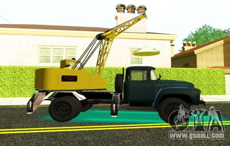 ZIL 130 K25 for GTA San Andreas left view