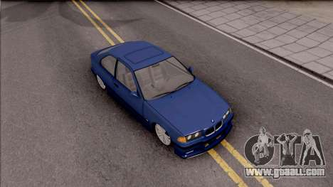 BMW M3 E36 Compact for GTA San Andreas right view
