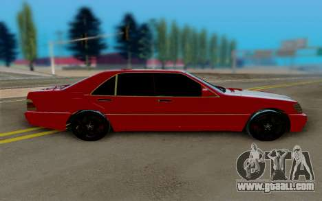 Mercedes-Benz W124 230E for GTA San Andreas left view