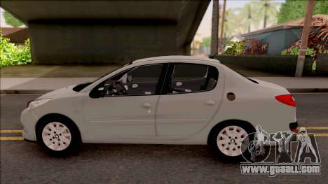 Peugeot 207 Passion for GTA San Andreas left view