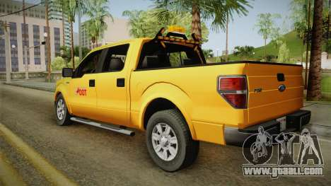Ford F150 2010 for GTA San Andreas left view