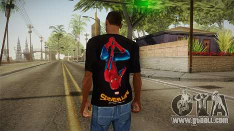 Spider-Man Homecoming T-Shirt for GTA San Andreas second screenshot