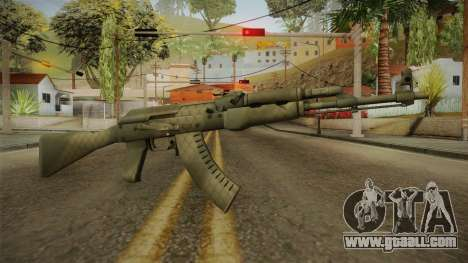 CS: GO AK-47 Safari Mesh Skin for GTA San Andreas