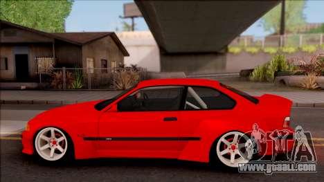 BMW M3 E36 Drift Rocket Bunny v3 for GTA San Andreas left view