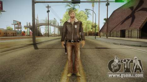 Rick TWD Comic Skin for GTA San Andreas second screenshot