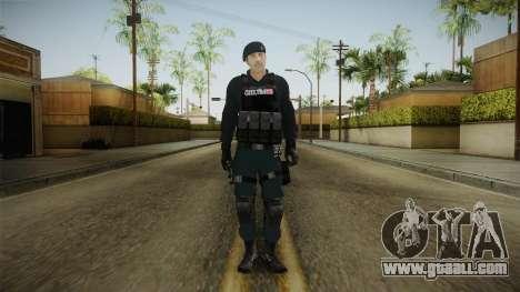 Turkish Police-Rapid Response Unit Member for GTA San Andreas second screenshot