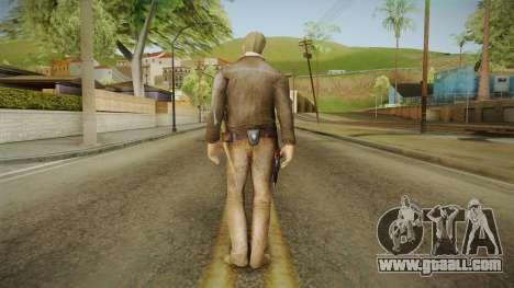 Rick TWD Comic Skin for GTA San Andreas third screenshot