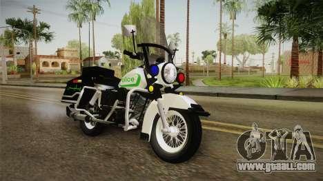 New Police Bike v1 for GTA San Andreas