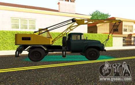ZIL 130 K25 for GTA San Andreas back view