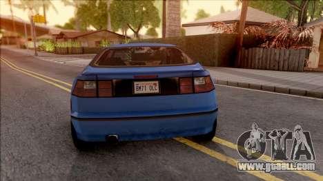 BF Conrad for GTA San Andreas back left view