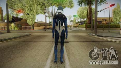 Mass Effect 3 EDI Alt Blue for GTA San Andreas third screenshot