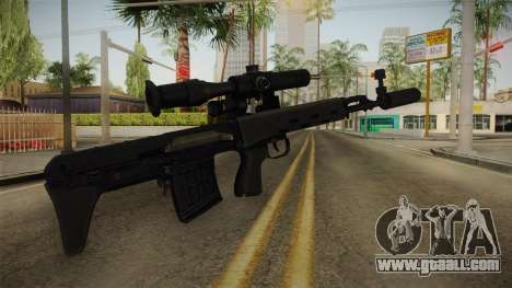 The weapon of Freedom v2 for GTA San Andreas second screenshot