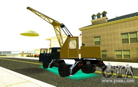 ZIL 130 K25 for GTA San Andreas right view