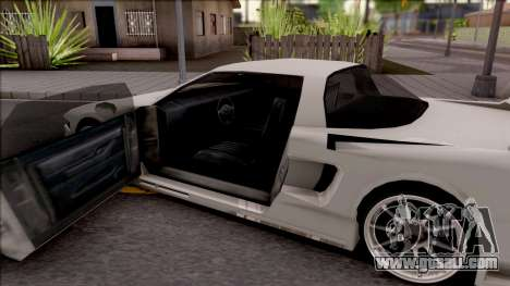 BlueRay Infernus V910 for GTA San Andreas inner view