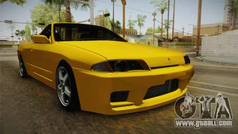 Nissan Skyline R32 Pickup for GTA San Andreas right view
