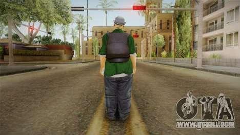 New Big Smoke v2 for GTA San Andreas third screenshot
