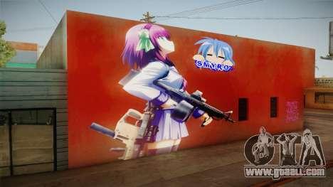 Yurippe Wall for GTA San Andreas