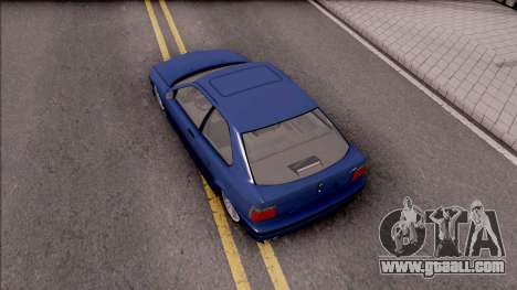 BMW M3 E36 Compact for GTA San Andreas back view