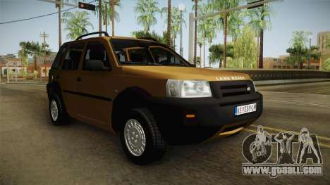Land Rover Freelander v6 for GTA San Andreas right view