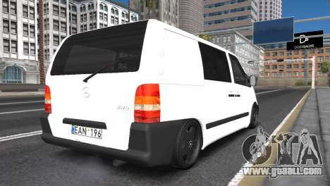 Mercedes Vito for GTA San Andreas left view