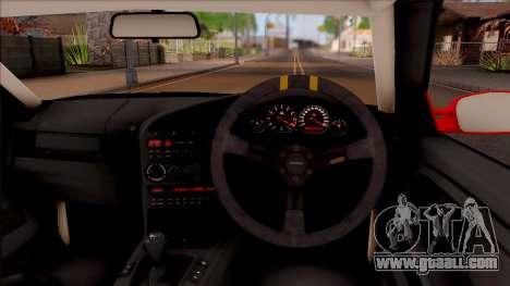 BMW M3 E36 Drift Rocket Bunny v3 for GTA San Andreas inner view