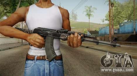 CS: GO AK-47 Black Laminate Skin for GTA San Andreas third screenshot