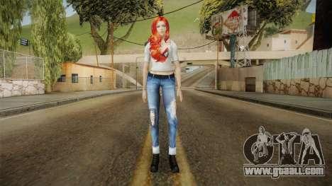 Mary Jane Skin for GTA San Andreas second screenshot