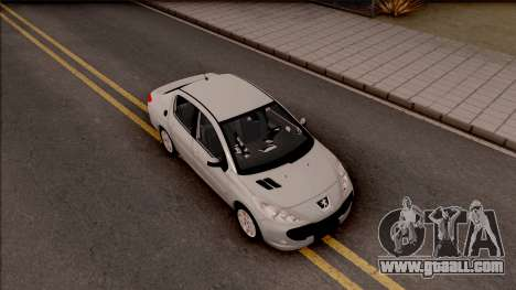 Peugeot 207 Passion for GTA San Andreas right view
