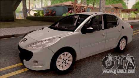 Peugeot 207 Passion for GTA San Andreas
