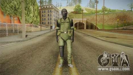 MSF Custom Soldier Skin 3 for GTA San Andreas second screenshot