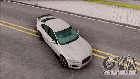 Jaguar XF R-S 2015 for GTA San Andreas right view