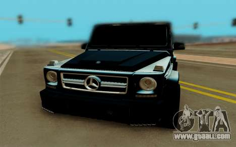Mercedes-Benz G63 Brabus for GTA San Andreas right view