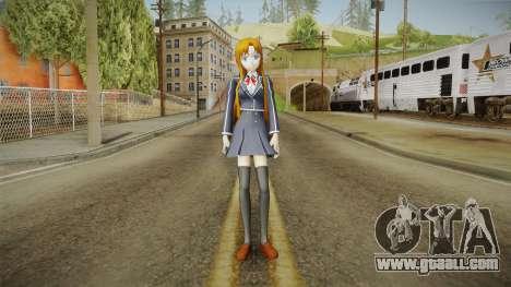 Asuna Yuuki School Uniform v1 for GTA San Andreas second screenshot