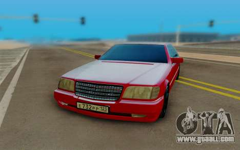 Mercedes-Benz W124 230E for GTA San Andreas back view