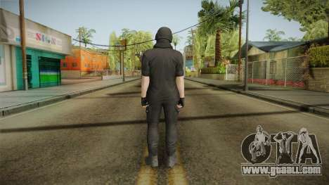 GTA Online: Black Army Skin v1 for GTA San Andreas third screenshot