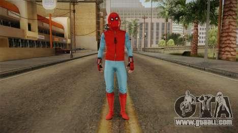 Marvel Heroes Omega - Homemade Suit v2 for GTA San Andreas second screenshot