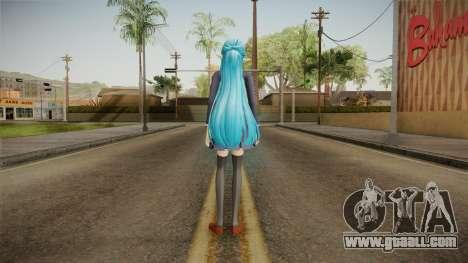 Asuna Yuuki School Uniform v5 for GTA San Andreas third screenshot