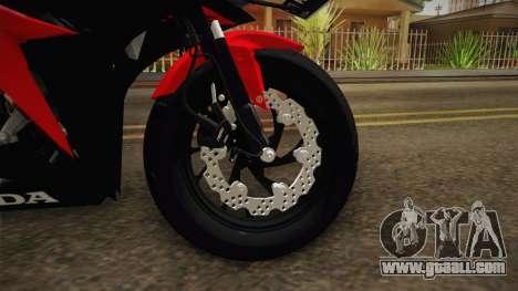 Honda CBR150 Pro Liner for GTA San Andreas back view