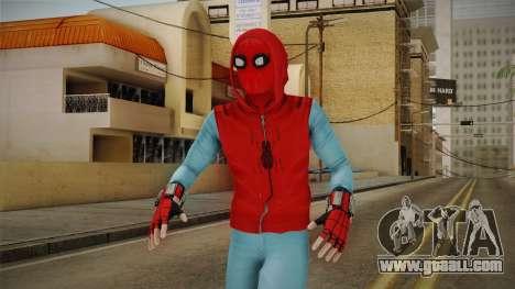 Marvel Heroes Omega - Homemade Suit v2 for GTA San Andreas