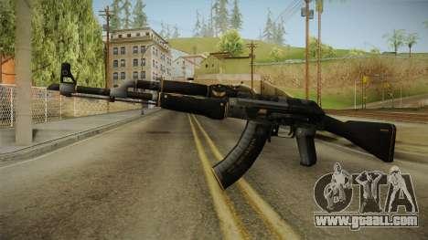 CS: GO AK-47 Elite Build Skin for GTA San Andreas