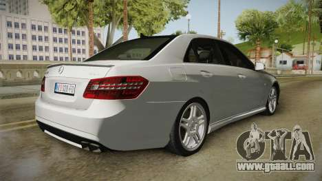 Mercedes-Benz E63 AMG for GTA San Andreas right view