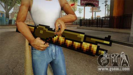 Metal Slug Weapon 13 for GTA San Andreas third screenshot