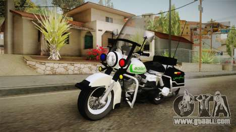 New Police Bike v1 for GTA San Andreas right view