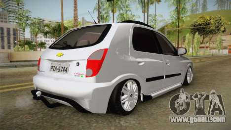 Chevrolet Celta Off Road Edition for GTA San Andreas right view