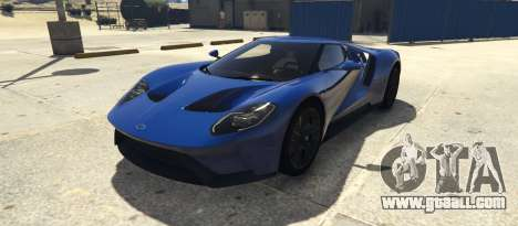 Ford GT 2017 for GTA 5