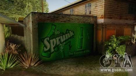 New CJ House Garage for GTA San Andreas